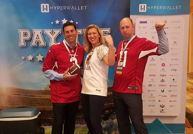 Hyperwallet Sales Team: Pay the Field