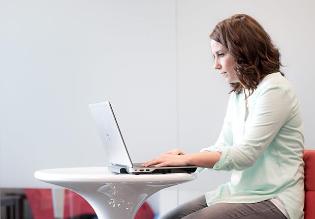 Hyperwallet Employee Working