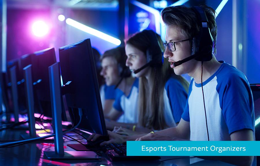 Hyperwallet Homepage Esports Carousel