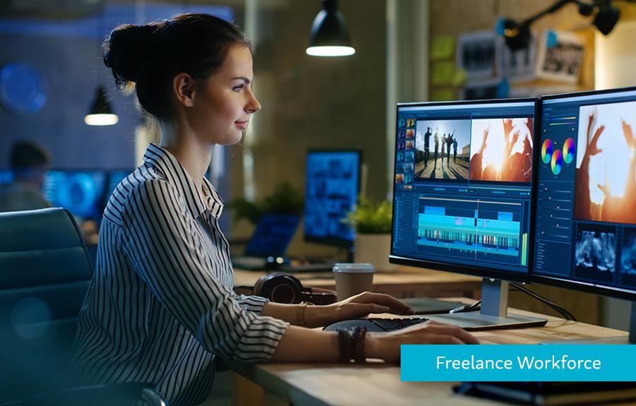 Hyperwallet Homepage Freelance Carousel