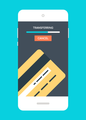 An Open Letter to the On-Demand Economy - Mobile Transfer Illustration