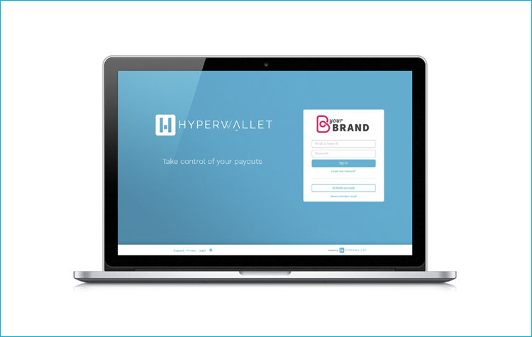 Hyperwallet Co-Branded Pay Portal - Featured Image