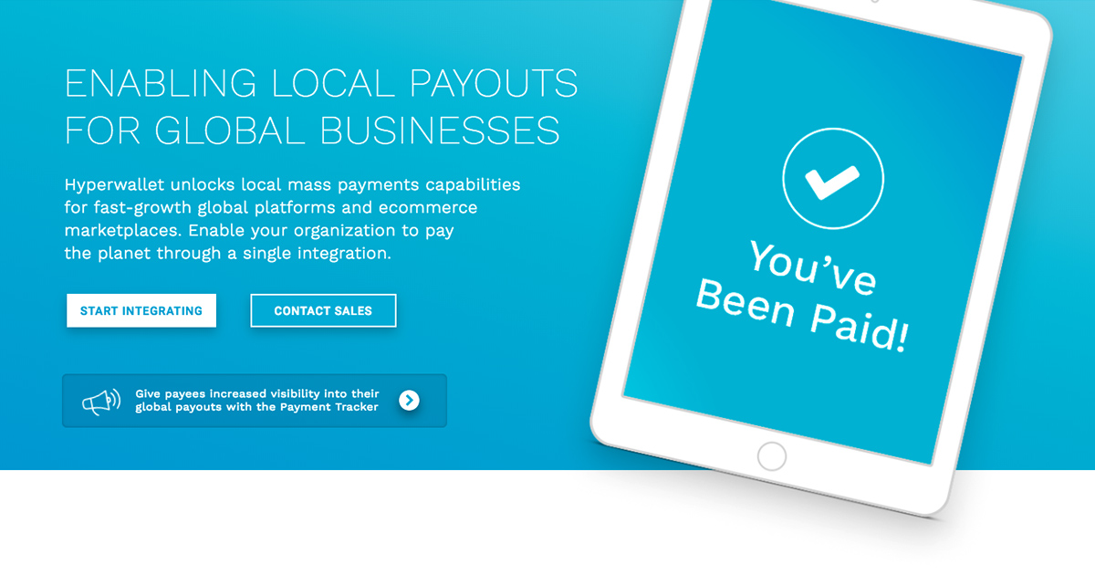 Your Global Payout Solution | Hyperwallet Payout Platform